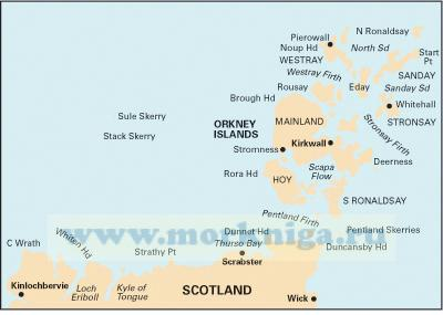 C68 Cape Wrath to Wick and the Orkney Islands
