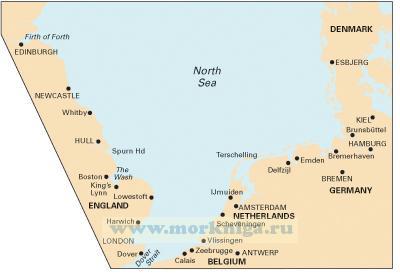 C70 Southern North Sea Passage Chart Южная часть Северного моря (1:900 000)