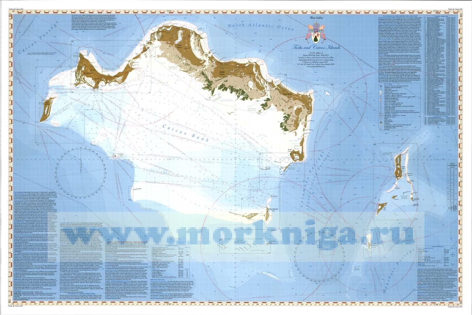 Turks Islands Chart