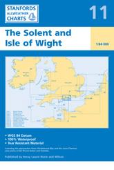 Chart 11: The Solent and Isle of Wight