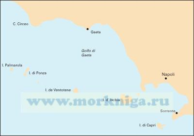 M46 Isole Pontine to the Bay of  Naples. От Понцианских островов до Неаполитанского залива