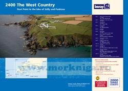 2400 West Country Chart Pack - Dartmouth Edition