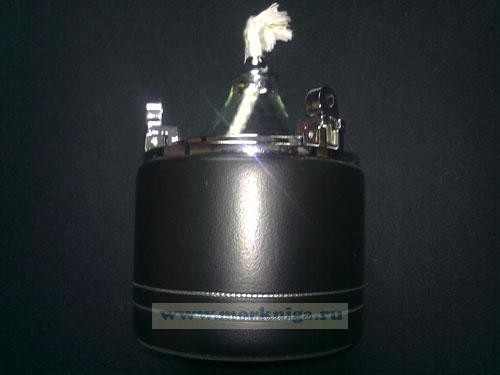Лампа маслянная хромированная