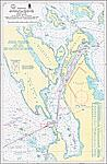 15161 Восточная часть залива Вест - фьорд. Пролив Рафтсуннет и Экс - фьорд (Масштаб 1: 50 000)