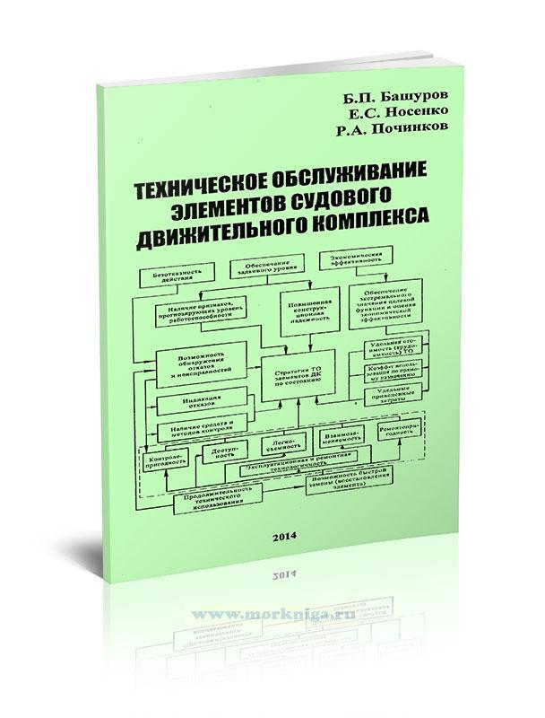 Техническое обслуживание элементов судового движительного комплекса