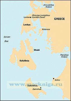 G12 South Ionian Islands Южные Ионические острова (1:190 000)