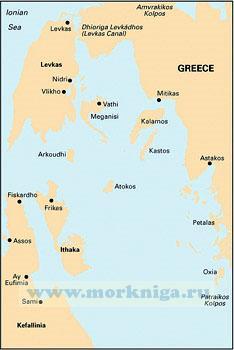 G121 The Inland Sea Ионическое море между Балканским полуостровом и островами Кефалония, Лефкада
