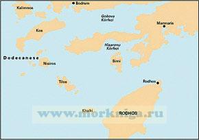 G35 Dodecanese and the Coast of Turkey  Додеканические острова Греции и побережье Турции (1:190 000)