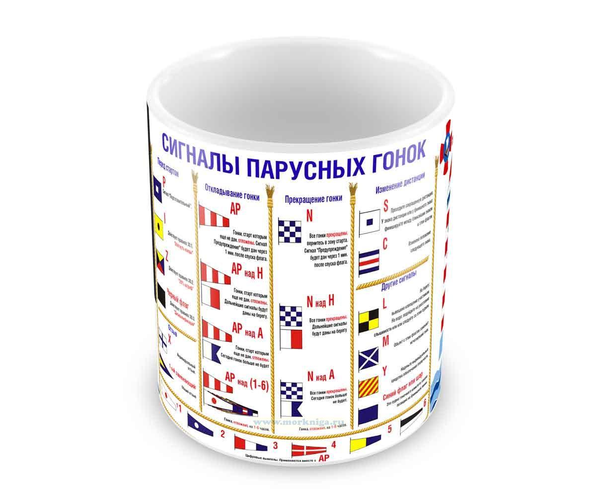 Кружка Сигналы парусных гонок