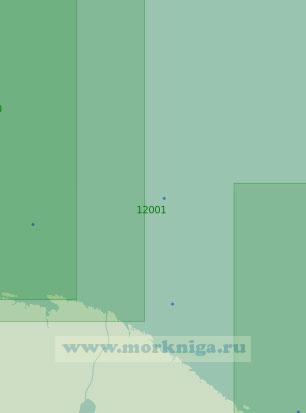 12001 От губы Териберская до губы Восточная Лица (Масштаб 1:200 000)