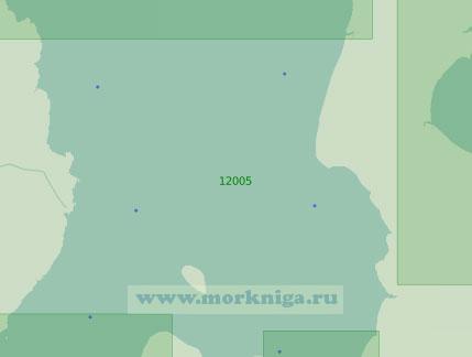 12005 Северные подходы к горлу Белого моря и Мезенский залив (Масштаб 1:200 000)