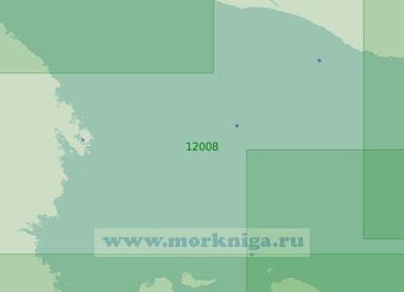 12008 Подходы к Кандалакшскому и Онежскому заливам (Масштаб 1:200 000)