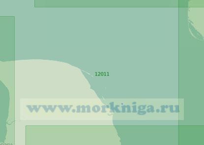 12011 От реки Мадаха до мыса Святой Нос (Тиманский) (Масштаб 1:200 000)