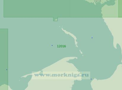 12016 От мыса Черная Лопатка до пролива Югорский Шар (Масштаб 1:200 000)