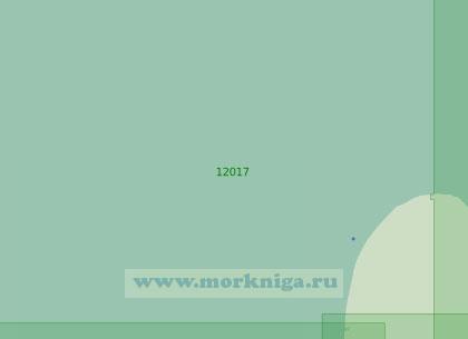 12017 Район к северо-западу от острова Колгуев (Масштаб 1:200 000)