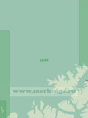 12103 От острова Нур-Фуглёй до мыса Тархалсен (Масштаб 1:200 000)
