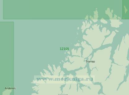 12105 От острова Нур-Фуглёйа до острова Аннёйа (Масштаб 1:200 000)