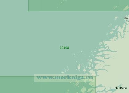 12108 От острова Томма до острова Ланнегу (Масштаб 1:200 000)