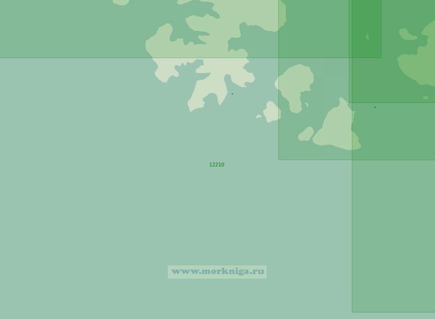 12210 Юго-западный подход к проливу Британский Канал (Масштаб 1:200 000)