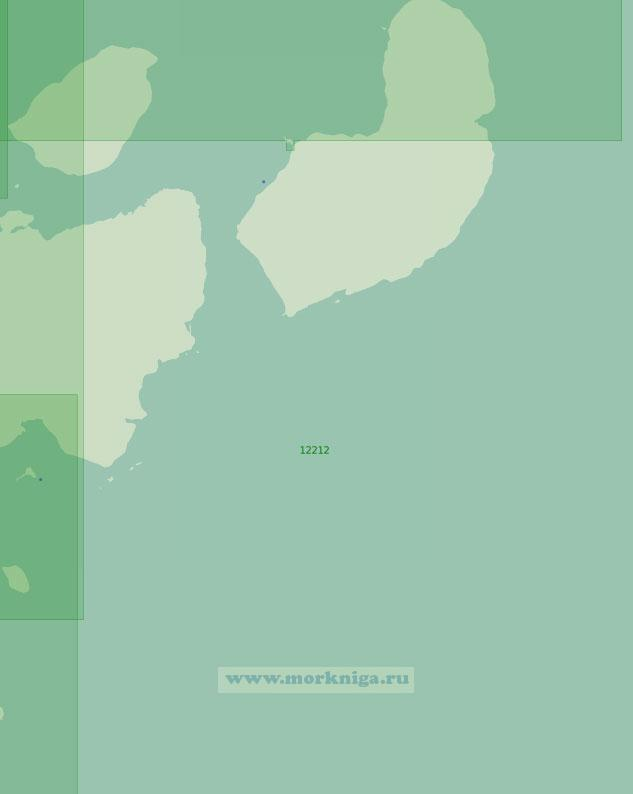 12212 Подходы к проливу Моргана (Масштаб 1:200 000)