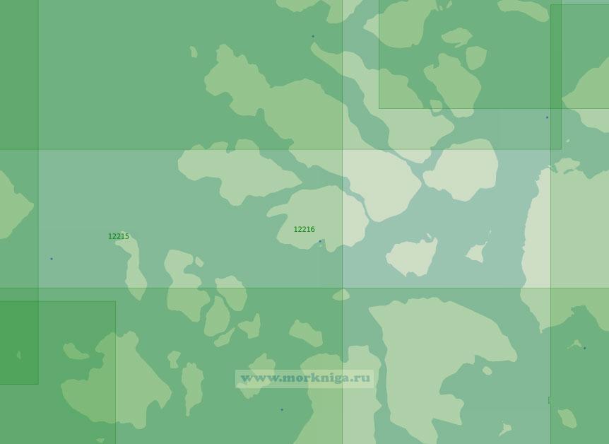 12216 От пролива Де-Брюйне до пролива Березкина (Масштаб 1:200 000)