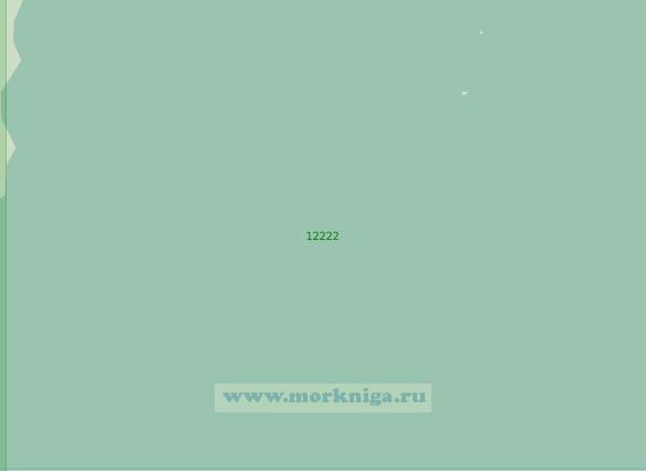 12222 От островов Тысяча Островов (Тусенёйане) до острова Западный Шпицберген (Масштаб 1:200 000)