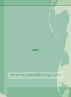 12309 От Югорского полуострова до островов Шараповы Кошки (Масштаб 1:200 000)