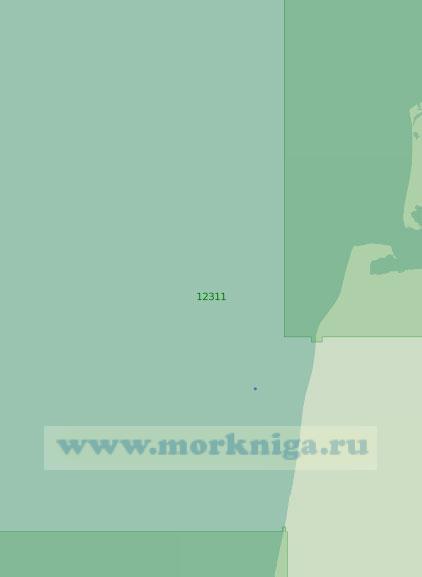 12311 От реки Хардеяха (Седая) до острова Белый (Масштаб 1:200 000)