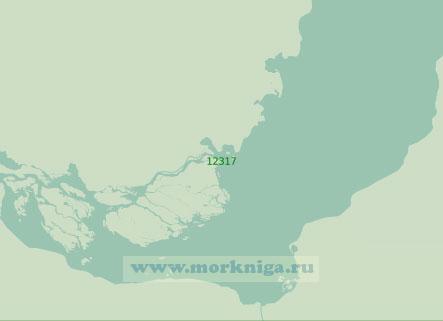 12317 От мыса Паёта до мыса Сандибе с дельтой реки Обь (Масштаб 1:200 000)