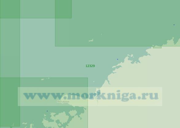 12329 От островов Челльмана до мыса Дубинского (Масштаб 1:200 000)