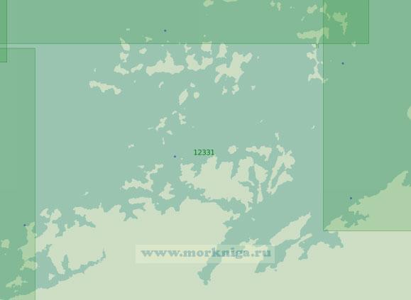12331 Южная часть архипелага Норденшельда (Масштаб 1:200 000)