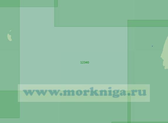 12340 От острова Воронина до острова Большевик (Масштаб 1:200 000)