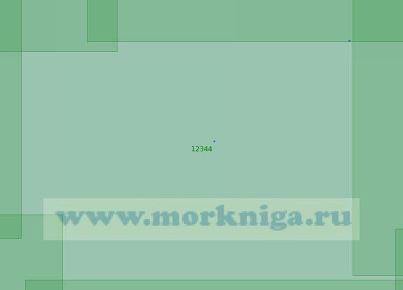 12344 Острова Сергея Кирова (Масштаб 1:200 000)