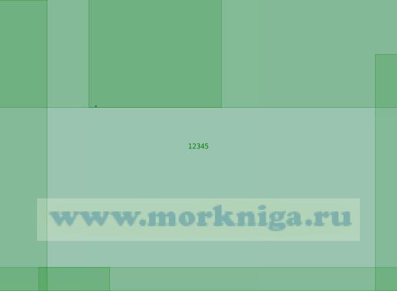 12345 Подходы к острову Уединения (Масштаб 1:200 000)