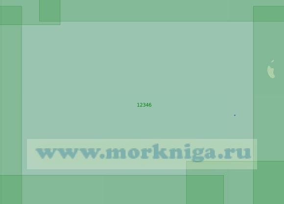 12346 От острова Кирова до острова Воронина (Масштаб 1:200 000)