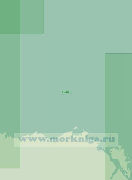 12401 От мыса Нарвалов до острова Северный (Масштаб 1:200 000)