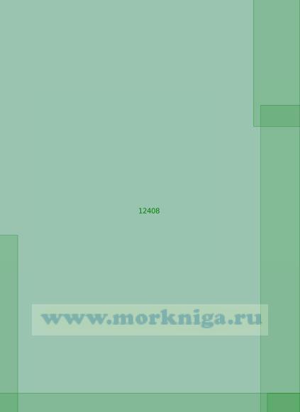 12408 От 74°10' N до 75°50' N, от 128°50' Е до 133°30' Е (Масштаб 1:200 000)