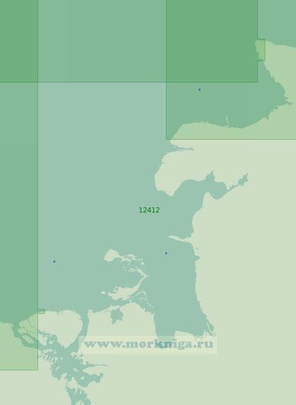 12412 От острова Ярок до мыса Святой Нос (Масштаб 1:200 000)