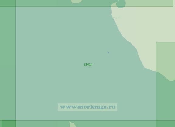 12414 От острова Столбовой до острова Бельковский (Масштаб 1:200 000)