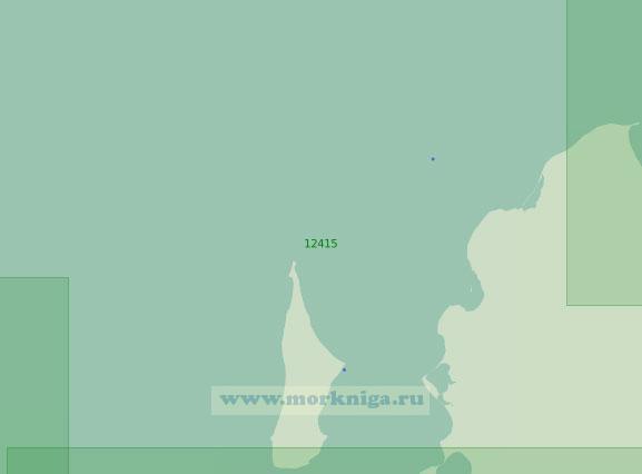 12415 Остров Котельный. От мыса Розовый до мыса Анисий с островом Бельковский (Масштаб 1: 200 000)