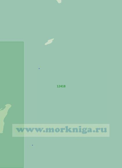 12418 От острова Новая Сибирь до острова Жохова (Масштаб 1:200 000)