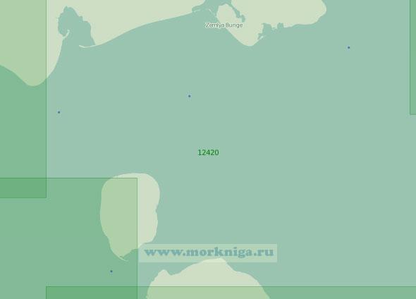 12420 Пролив Санникова (Масштаб 1:200 000)