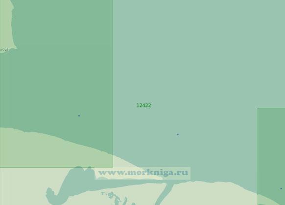 12422 Восточные подходы к проливу Дмитрия Лаптева (Масштаб 1:200 000)