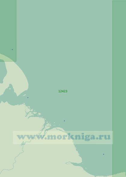 12423 От полуострова Лопатка до реки Алазея (Масштаб 1:200 000)