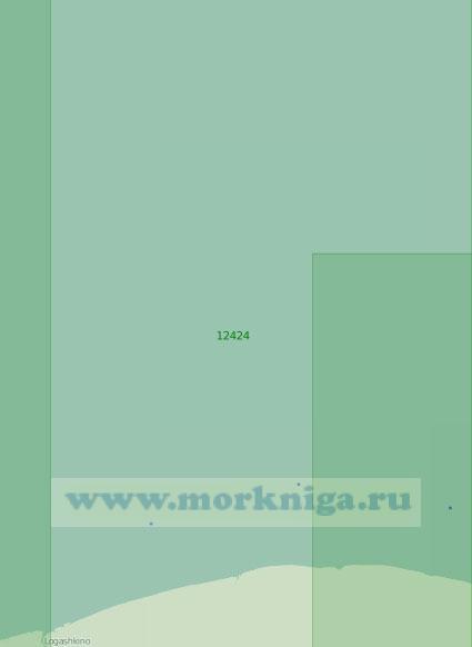 12424 От реки Алазея до меридиана 157°54' Е (Масштаб 1:200 000)