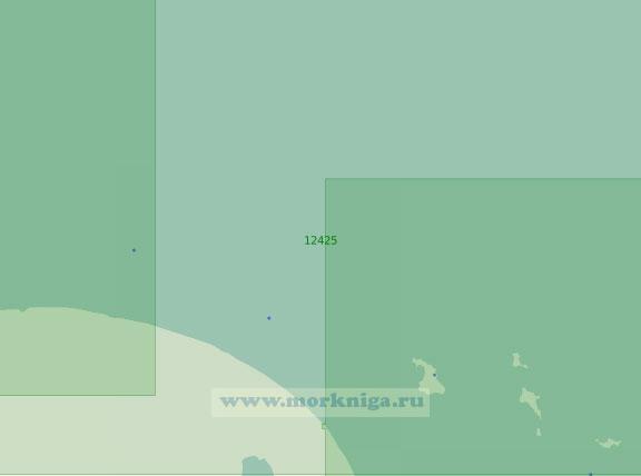 12425 От реки Большая Куропаточья до острова Четырёхстолбовой (Масштаб 1:200 000)