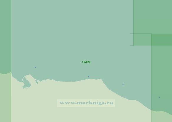 12429 От острова Шалаурова до лагуны Рыпильгын (Масштаб 1:200 000)