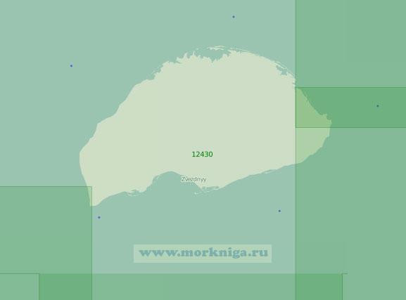 12430 Остров Врангеля (Масштаб 1:200 000)