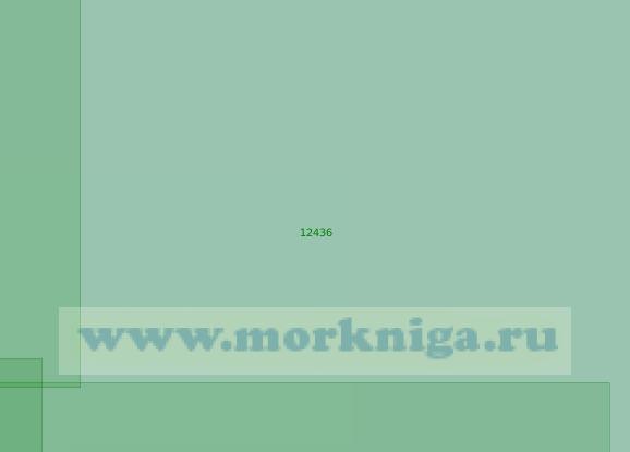 12436 Банка Геральд с подходами (Масштаб 1:200 000)