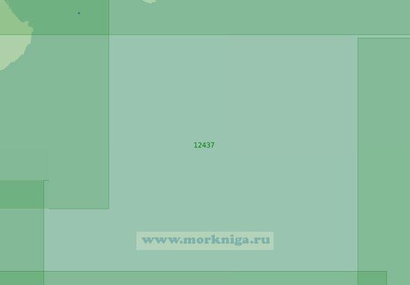 12437 От острова Врангеля до банки Геральд (Масштаб 1:200 000)